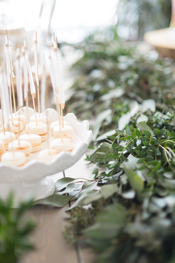 Stunning party details from a Boho & Bubbly Baby Shower via KARA'S PARTY IDEAS | KarasPartyIdeas.com (23)