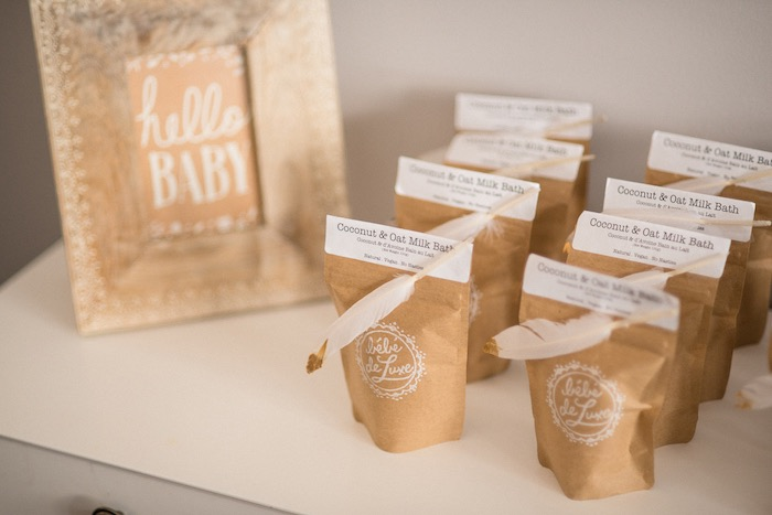Milk Bath Favors from a Boho & Bubbly Baby Shower via KARA'S PARTY IDEAS | KarasPartyIdeas.com (3)