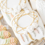 Boho & Bubbly Baby Shower via KARA'S PARTY IDEAS | KarasPartyIdeas.com (2)