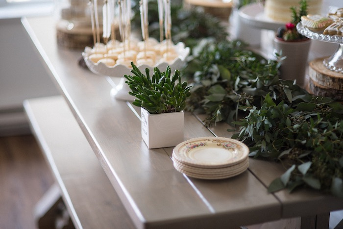 Details from a Boho & Bubbly Baby Shower via KARA'S PARTY IDEAS | KarasPartyIdeas.com (47)