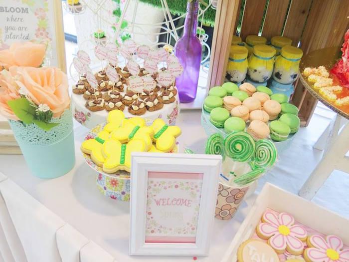 Sweets from a Boho Floral Birthday Party via Kara's Party Ideas KarasPartyIdeas.com (7)