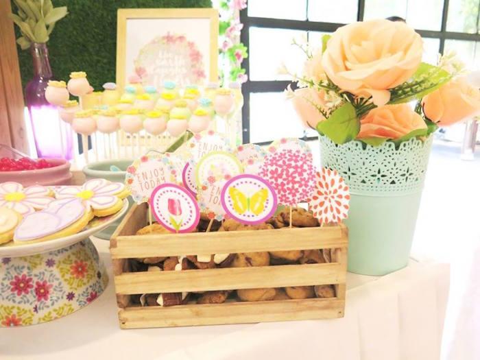 Boho Floral Birthday Party via Kara's Party Ideas KarasPartyIdeas.com (30)