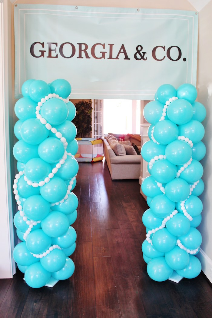 Tiffany And Co Cake Decorations