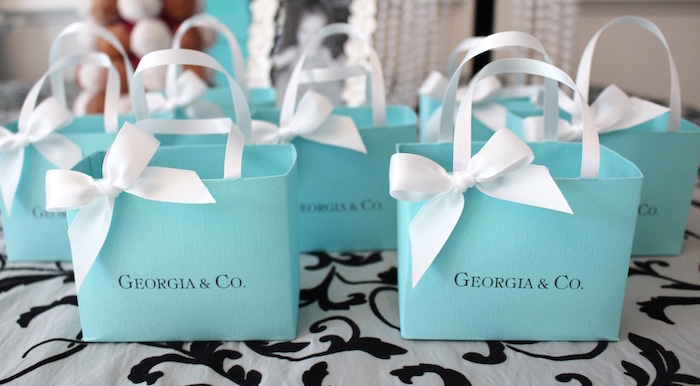 Breakfast at Tiffany's Birthday Party via Kara's Party Ideas KarasPartyIdeas.com (1)