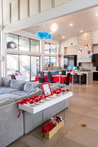 Partyscape from a Cat in the Hat themed Birthday Party via Kara's Party Ideas | KarasPartyIdeas.com - The Place for All Things Party! (64)