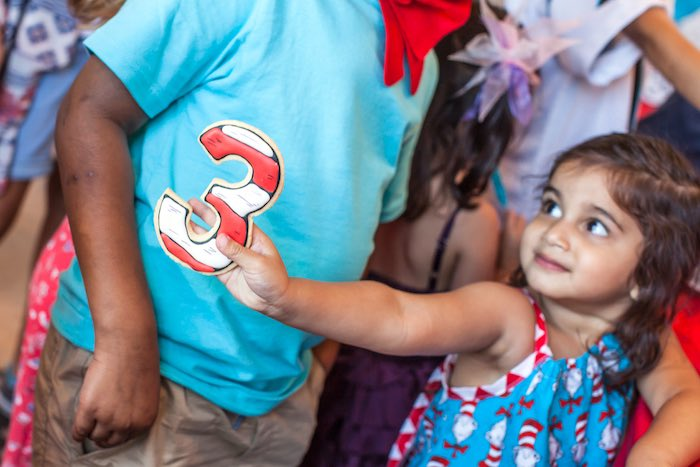 Cat in the Hat themed Birthday Party via Kara's Party Ideas   KarasPartyIdeas.com - The Place for All Things Party! (5)