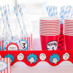 Cat in the Hat themed Birthday Party via Kara's Party Ideas | KarasPartyIdeas.com - The Place for All Things Party! (2)
