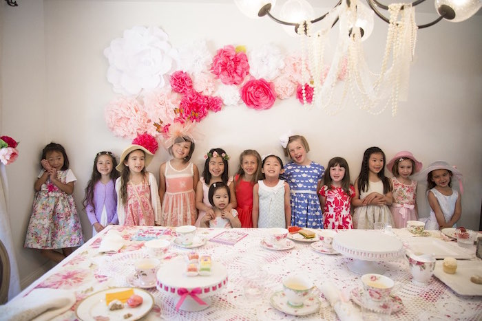 Colorful Tea Party via Kara's Party Ideas | KarasPartyIdeas.com (8)