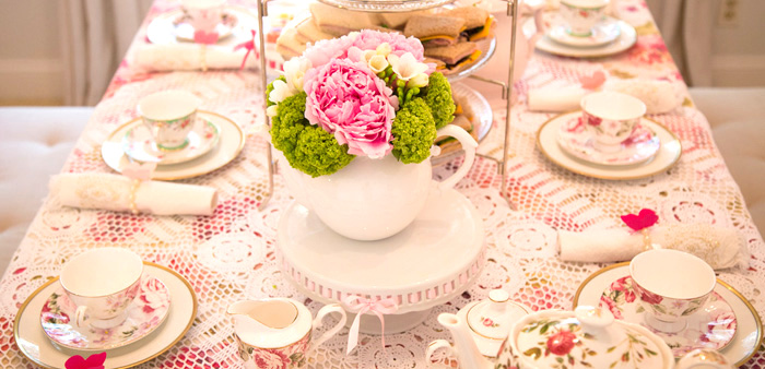 Colorful Tea Party via Kara's Party Ideas | KarasPartyIdeas.com (2)