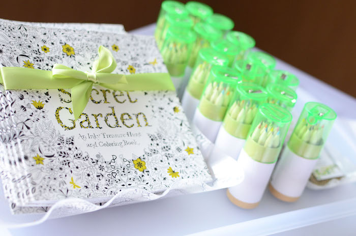 Favors from a Daisy Garden Themed Birthday Party via Kara's Party Ideas - KarasPartyIdeas.com (25)