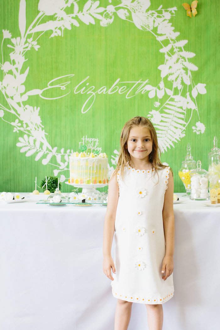 Daisy Garden Themed Birthday Party via Kara's Party Ideas - KarasPartyIdeas.com (35)
