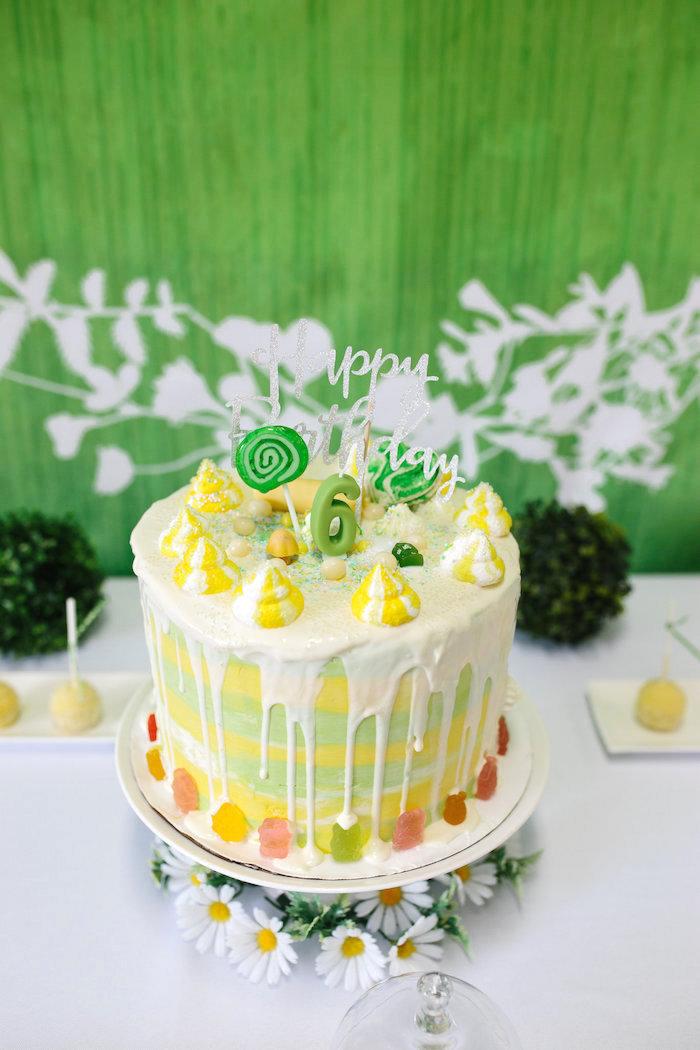 Kara 39 S Party Ideas Daisy Garden Themed Birthday Party Kara 39 S Party