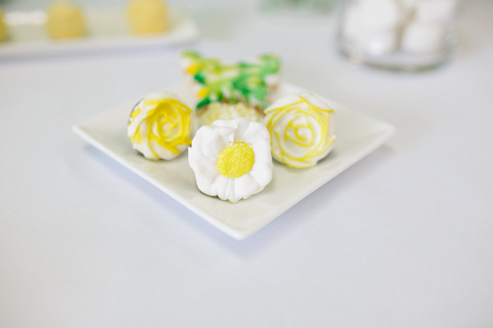 Flower ring cookies from a Daisy Garden Themed Birthday Party via Kara's Party Ideas - KarasPartyIdeas.com (30)