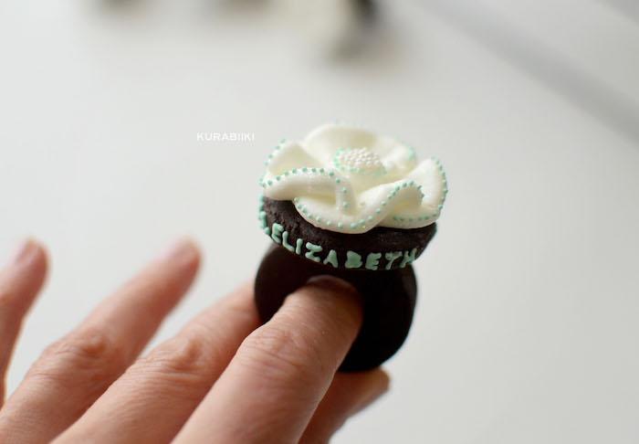 Flower ring cookie from a Daisy Garden Themed Birthday Party via Kara's Party Ideas - KarasPartyIdeas.com (29)