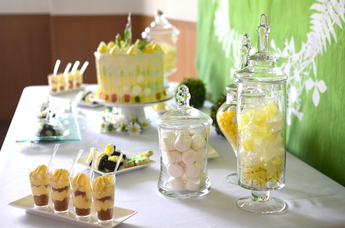 Sweets From A Daisy Garden Themed Birthday Party Via Karas Ideas