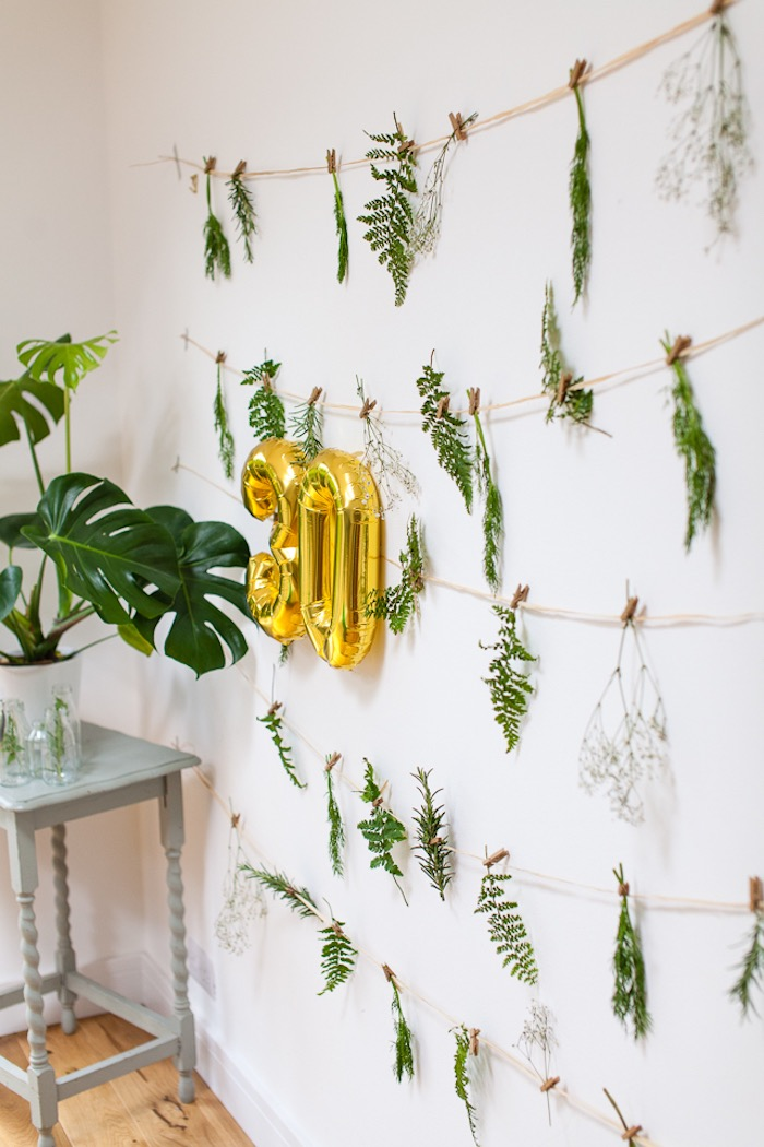 kara 39 s party ideas elegant botanical garden birthday brunch kara 39 s party ideas