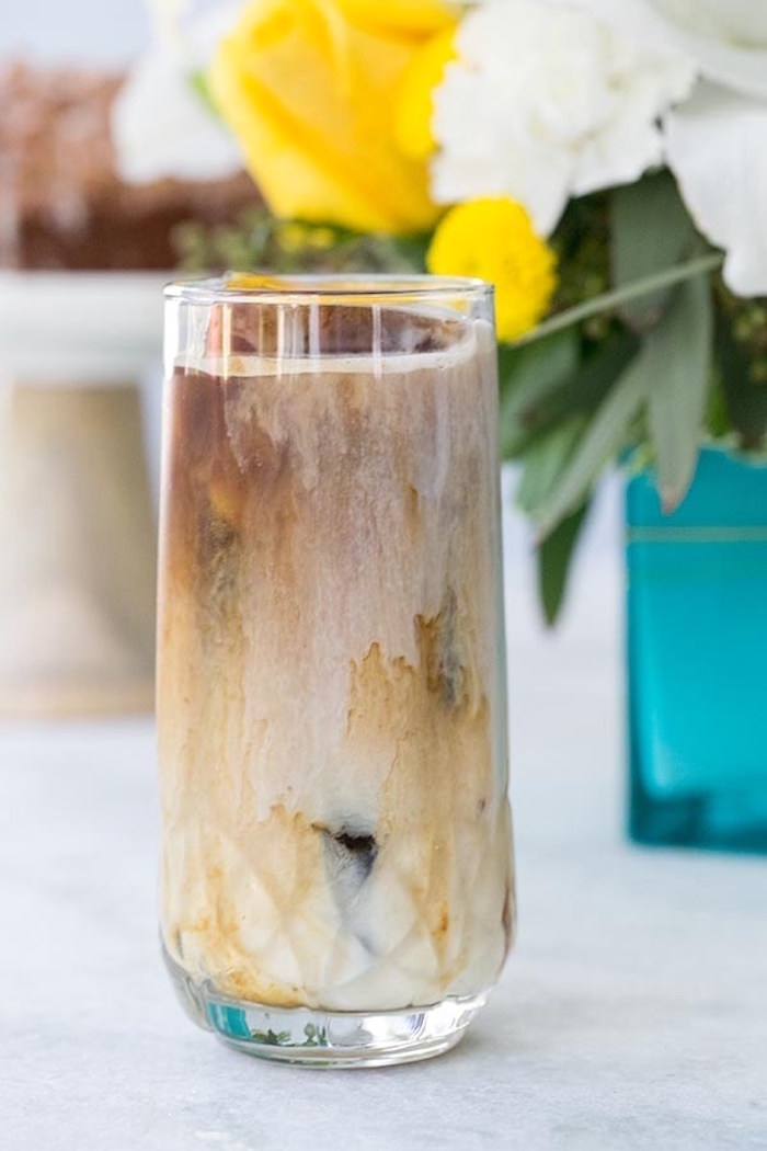 Coffee cocktail from a Floral Mother's Day Brunch via Kara's Party Ideas | KarasPartyIdeas.com (6)