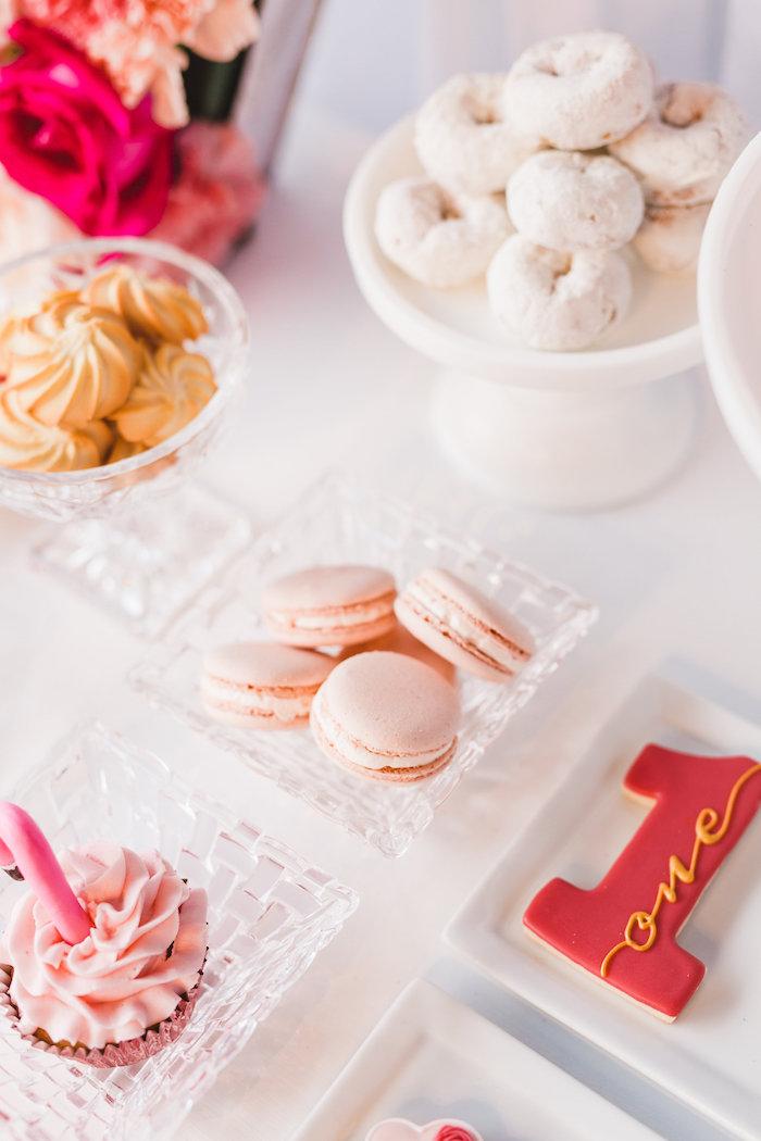 Sweets from a Florals & Flamingos Birthday Party via Kara's Party Ideas KarasPartyIdeas.com (41)