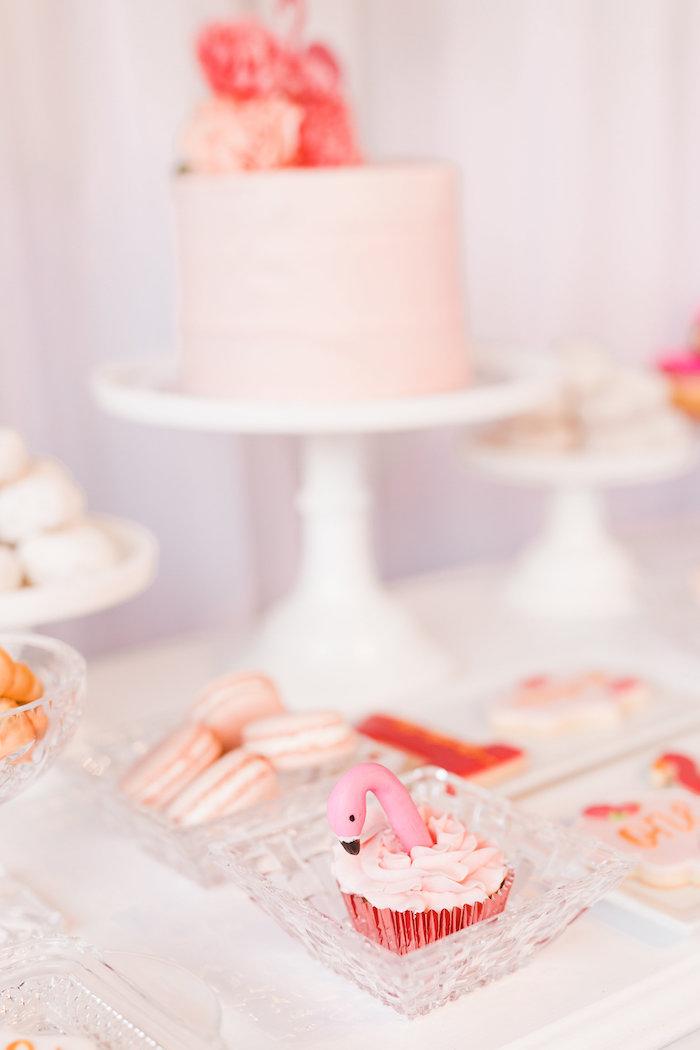 Sweets from a Florals & Flamingos Birthday Party via Kara's Party Ideas KarasPartyIdeas.com (18)
