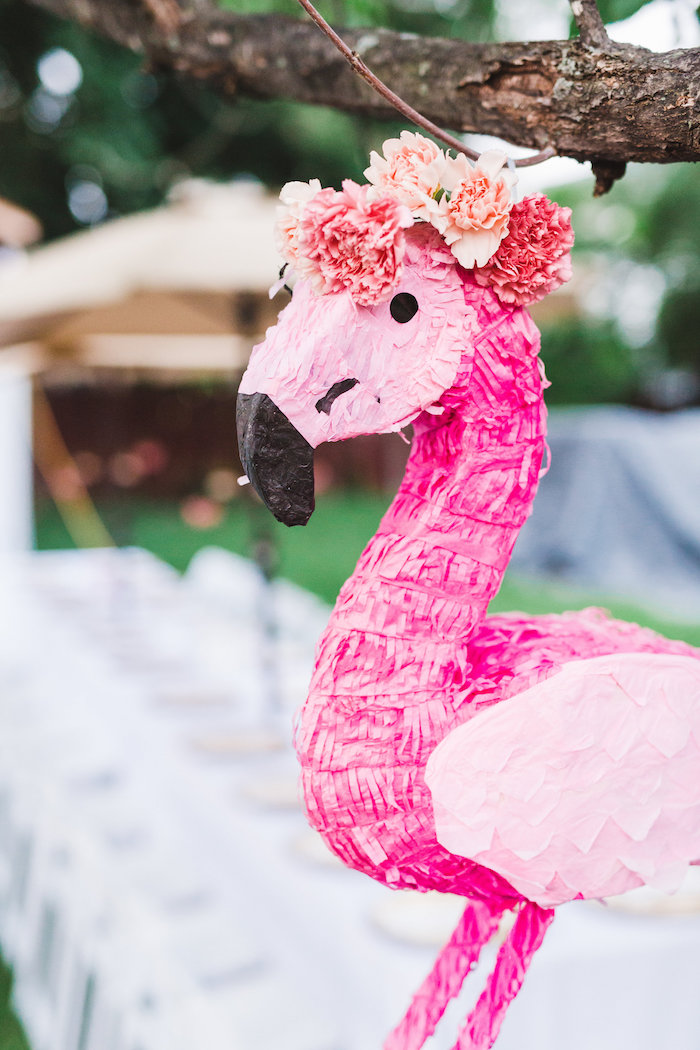 kara u0026 39 s party ideas florals  u0026 flamingos birthday party