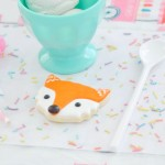 G- step seven- Scotch Thermal Laminator TL902 Ice Cream + Fox Party with DIY Sprinkles Place Mats! By Kara Allen | Kara's Party Ideas for Scotch Brand