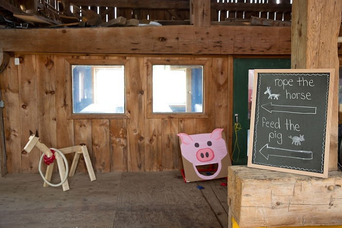 Barnyard party games from a Glamorous Barnyard Birthday Bash via Kara's Party Ideas | KarasPartyIdeas.com (13)