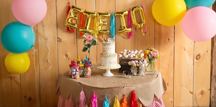 Glamorous Barnyard Birthday Bash via Kara's Party Ideas | KarasPartyIdeas.com (2)