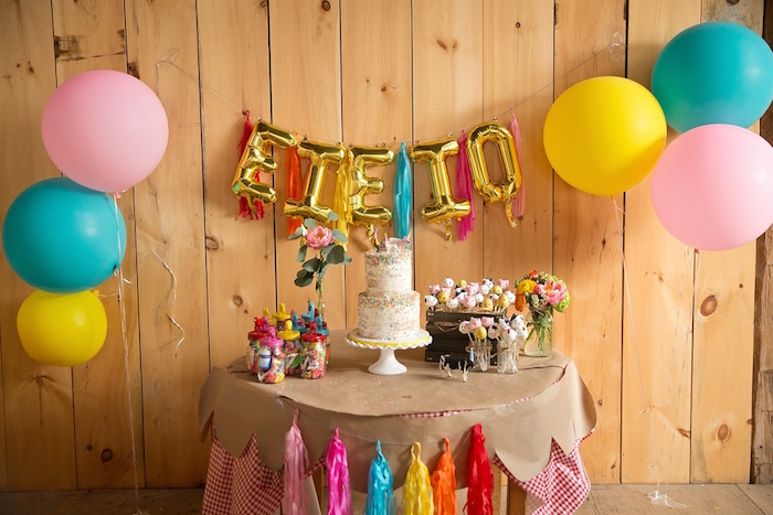 Glamorous Barnyard Birthday Bash via Kara's Party Ideas | KarasPartyIdeas.com (38)