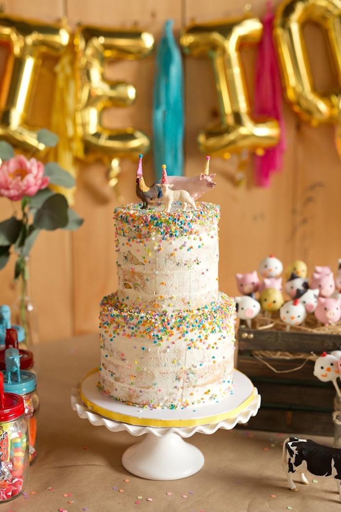Swell Karas Party Ideas Glam Barnyard Birthday Bash Karas Party Ideas Funny Birthday Cards Online Necthendildamsfinfo