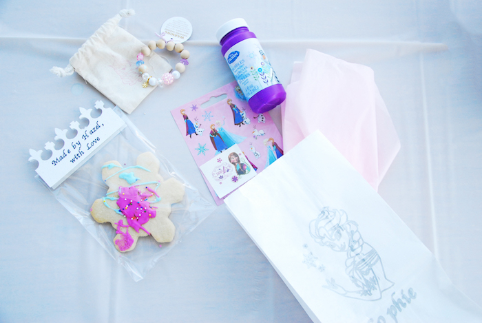Favors from a Glam Frozen Themed Birthday Party via Kara's Party Ideas KarasPartyIdeas.com (12)