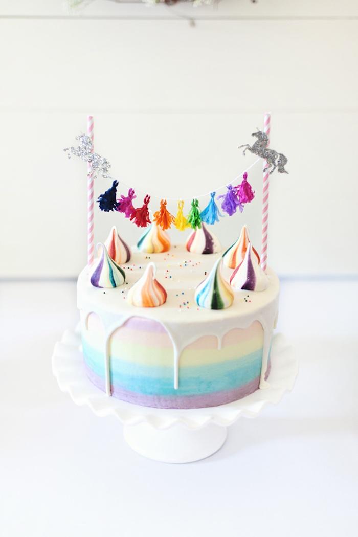 Glam Pastel Unicorn Themed Birthday Party via Kara's Party Ideas | KarasPartyIdeas.com (10)