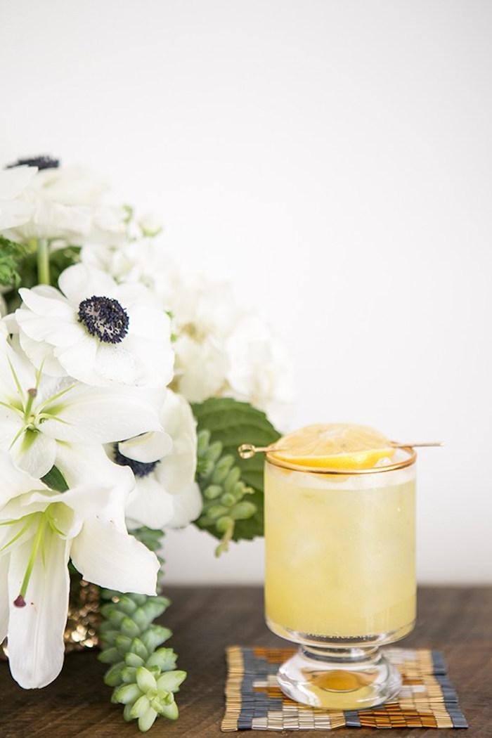 Drink/cocktail from a Glamorous Hollywood Oscar Party via Kara's Party Ideas | KarasPartyIdeas.com (7)