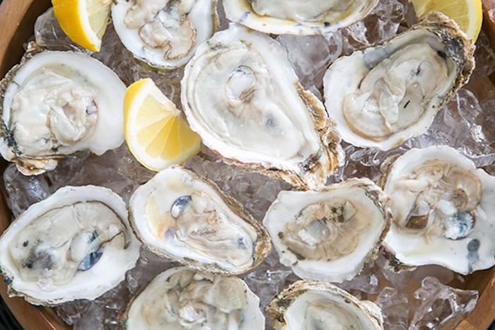 Oysters from a Glamorous Hollywood Oscar Party via Kara's Party Ideas | KarasPartyIdeas.com (13)