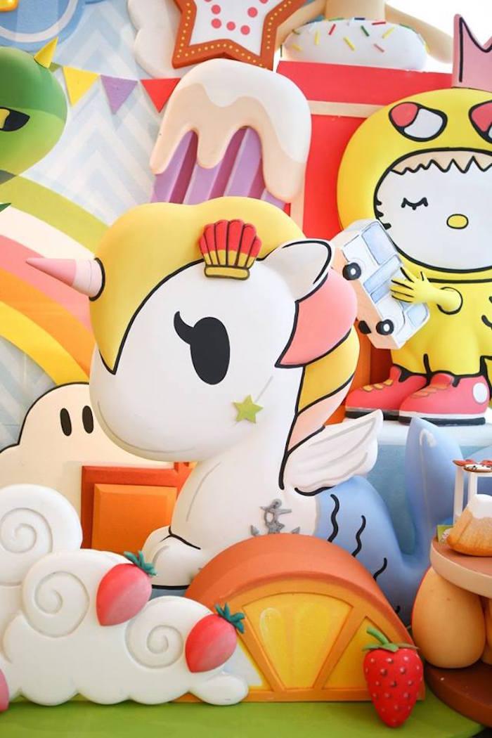 Stelina character prop from a Hello Kitty Tokidoki Themed Birthday Party via Kara's Party Ideas   KarasPartyIdeas.com (13)