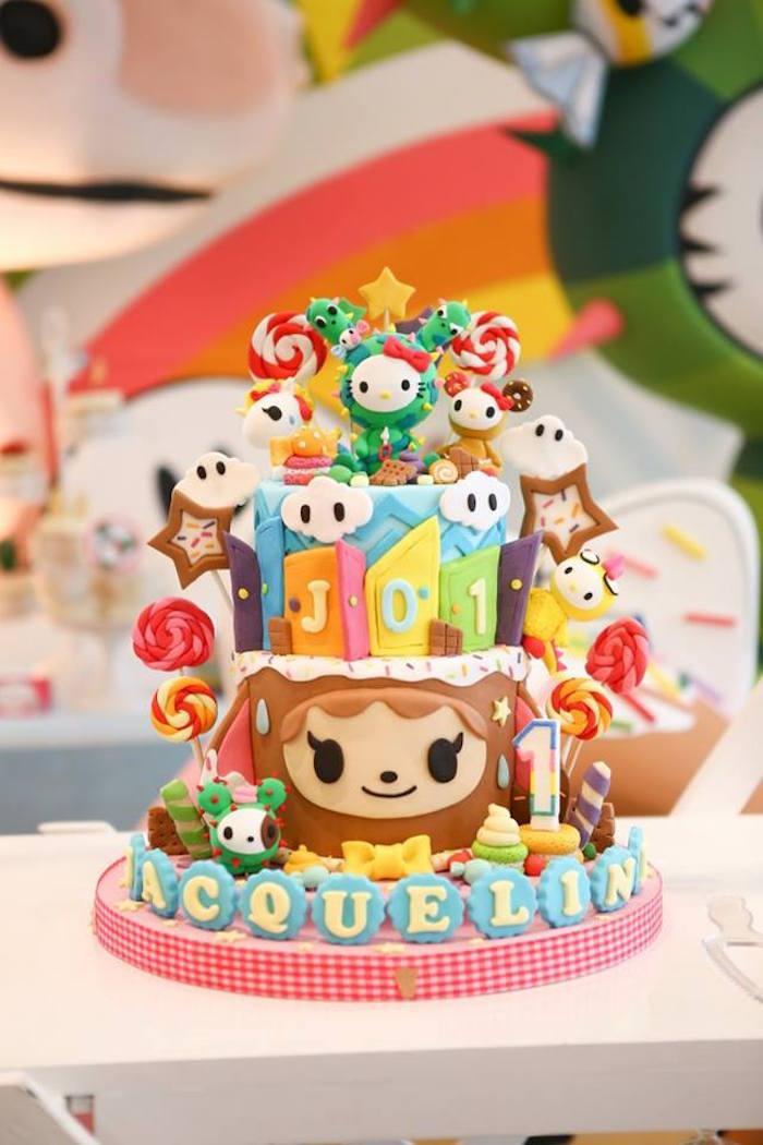Karas Party Ideas Hello Kitty Tokidoki Themed Birthday Party