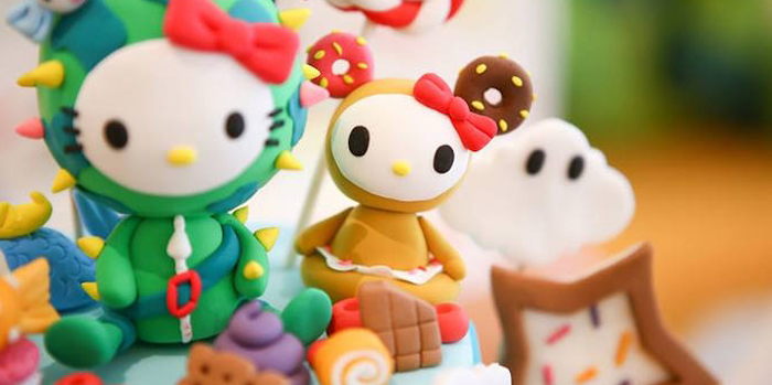 Hello Kitty Tokidoki Themed Birthday Party via Kara's Party Ideas | KarasPartyIdeas.com (2)