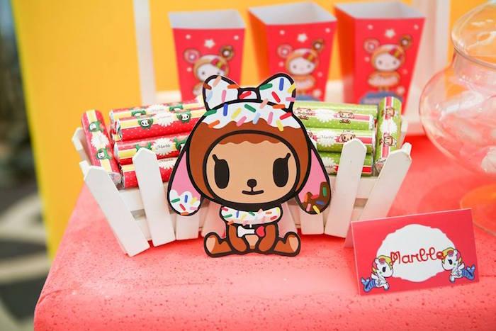 Candy favors from a Hello Kitty Tokidoki Themed Birthday Party via Kara's Party Ideas   KarasPartyIdeas.com (16)