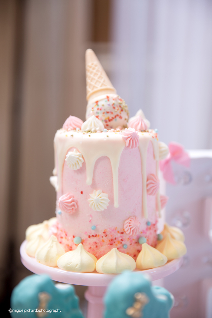 Birthday Cake Design Cream : Kara s Party Ideas Ice Cream Shop Birthday Party Kara s ...