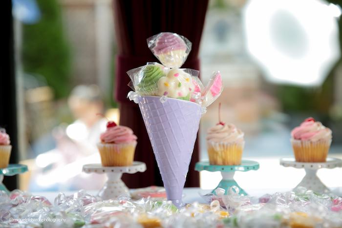 Lollipops from an Ice Cream Shop Birthday Party via Kara's Party Ideas KarasPartyIdeas.com (8)
