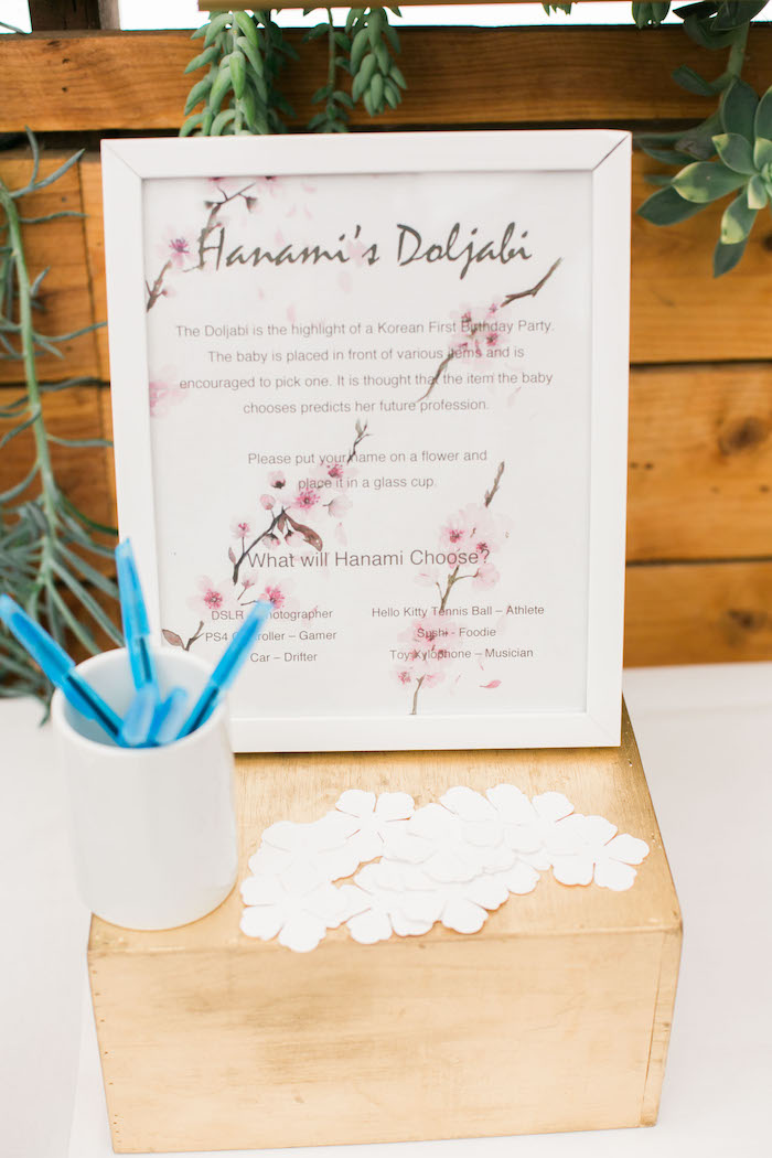 Karas party ideas japanese cherry blossom 1st birthday dol karas party signage from a japanese cherry blossom 1st birthday dol via karas party ideas karaspartyideas filmwisefo Choice Image