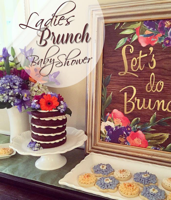 Kara S Party Ideas Ladies Floral Brunch Baby Shower Kara