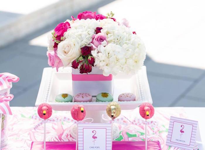 Lilly Pulitzer-Inspired Tropical Bridal Luncheon via Kara's Party Ideas | KarasPartyIdeas.com (22)