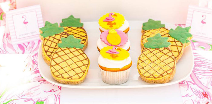 Lilly Pulitzer-Inspired Tropical Bridal Luncheon via Kara's Party Ideas | KarasPartyIdeas.com (2)