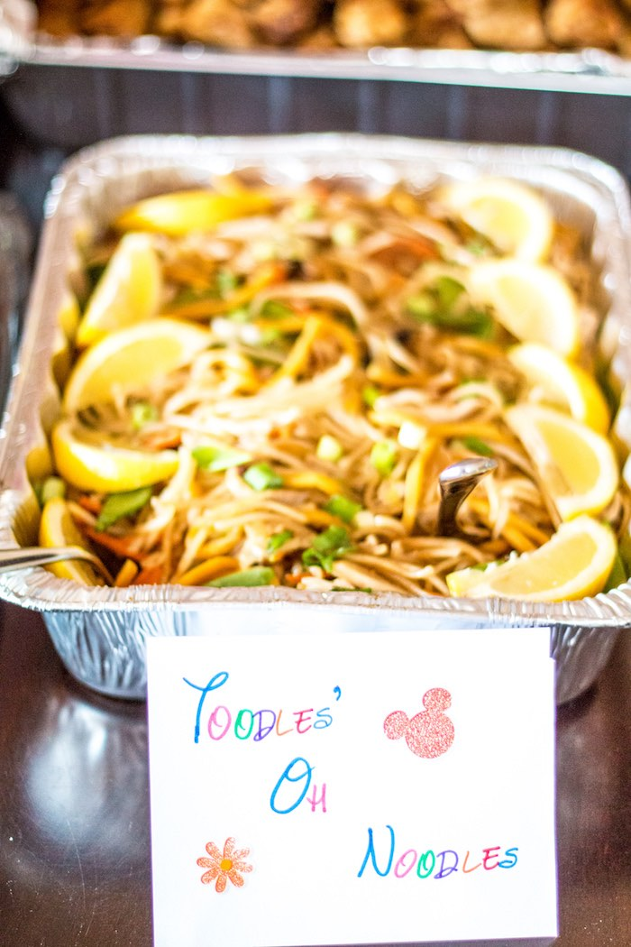 Oh Toodle Noodles from a Mickey Mouse Clubhouse Themed Birthday Party via Kara's Party Ideas KarasPartyIdeas.com (22)