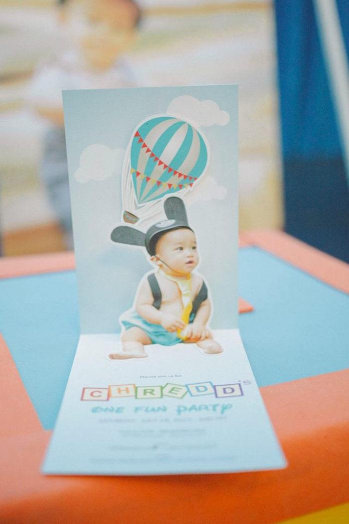 Kara\'s Party Ideas Mickey Mouse Hot Air Balloon Birthday Party ...