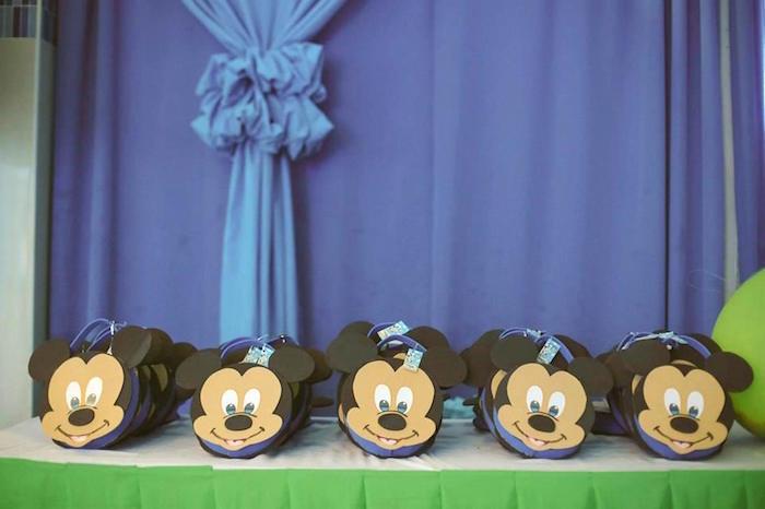 Mickey Mouse favor bags from a Mickey Mouse Hot Air Balloon Birthday Party via Kara's Party Ideas KarasPartyIdeas.com (21)