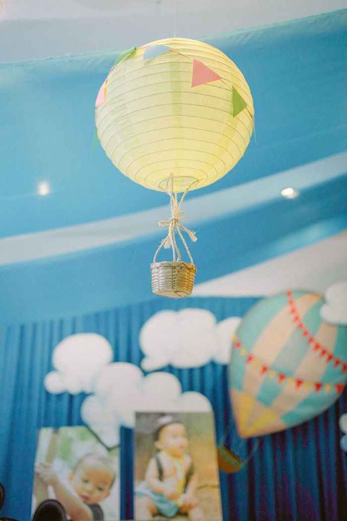 Hot Air Balloon Craft Ideas