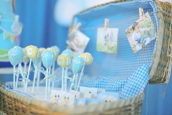 Cake pops from a Mickey Mouse Hot Air Balloon Birthday Party via Kara's Party Ideas KarasPartyIdeas.com (3)