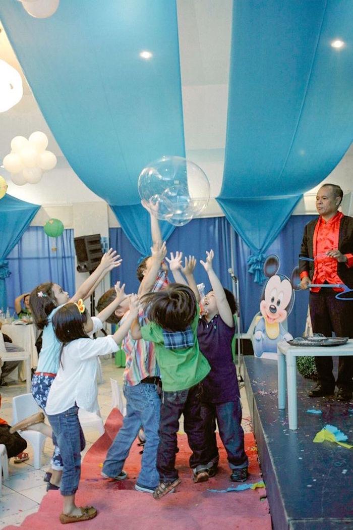 Kara S Party Ideas Mickey Mouse Hot Air Balloon Birthday