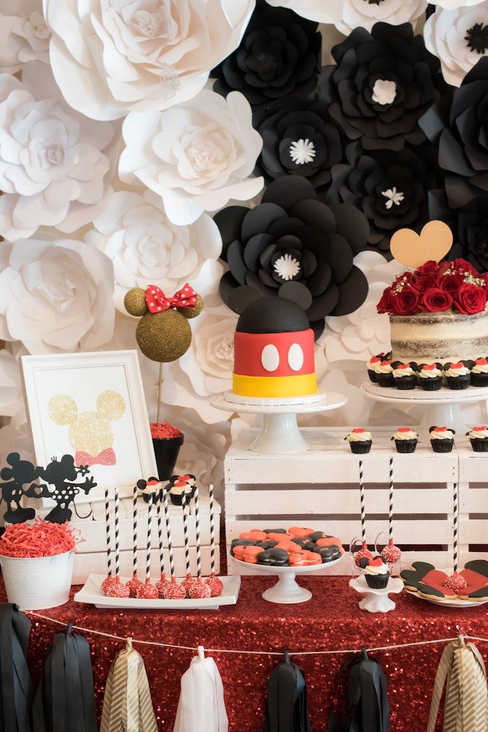 Minnie Mouse Birthday Party via Kara's Party Ideas | KarasPartyIdeas.com (8)